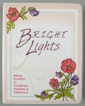 Bright Lights Empty Binder