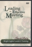 Leading an Effective Meeting Part 1 DVD